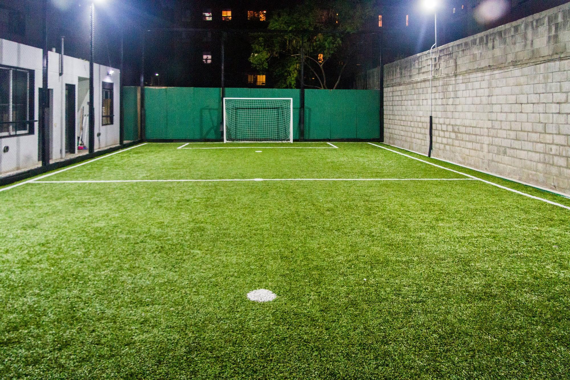 Fresias Garden - Bric Construcciones y Desarrollos cancha de futbol
