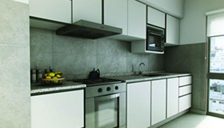Interior Fresias Garden cocina Bric Construccion y Desarrollo